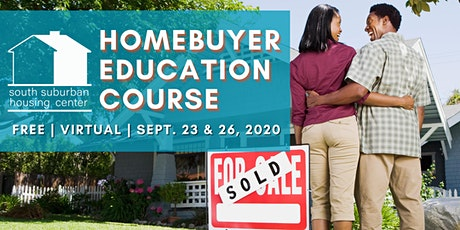 September Virtual Homebuyer Education Course tickets