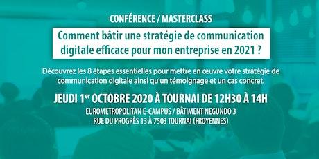 Comment bâtir une stratégie de communication digitale efficace? tickets