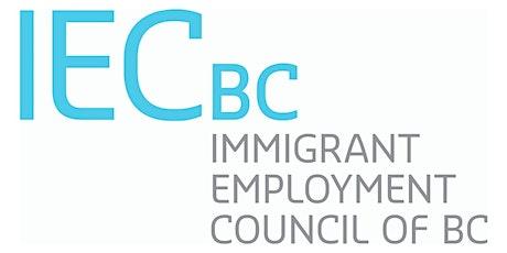 BC JobConnect Employer Webinar tickets