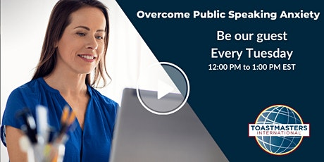 Overcoming Public Speaking Anxiety tickets