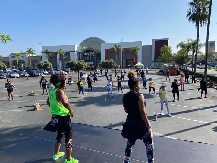 OUTDOOR ZUMBA PARTY - Every Saturday image