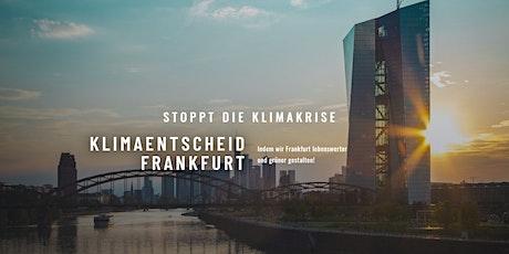 Unser Frankfurt - Klimaneutral bis 2035! Tickets