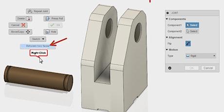 Fusion 360 Niveau 2 (dessin efficace, contraintes) billets