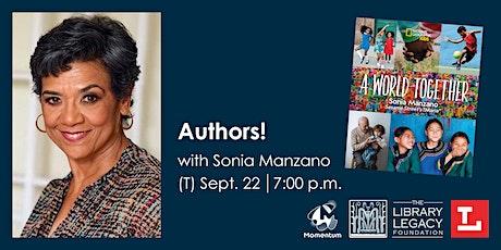 Authors! with Sonia Manzano tickets