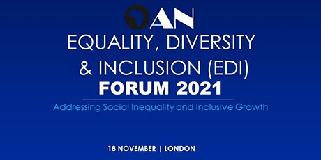 OAN  Equality, Diversity and Inclusion Conference 2021 tickets