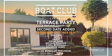 Boat Club Terrace Party @ Trent Park Country Club tickets