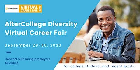 AfterCollege Diversity Virtual Career Fair tickets
