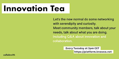 INNOVATION TEA tickets