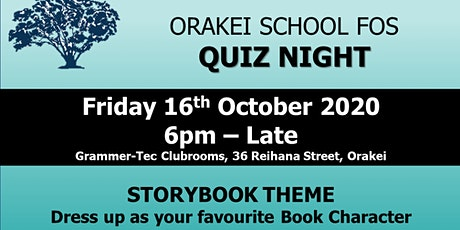 Friends of Orakei School - Quiz Night tickets