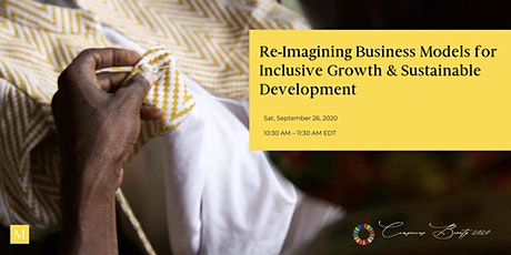 Re-Imagining Business Models for Inclusive Growth & Sustainable Development tickets