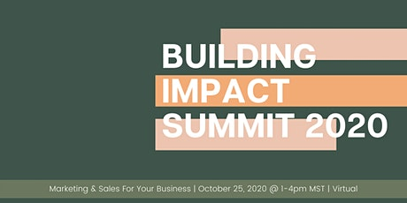 Building Impact Summit 2020 tickets