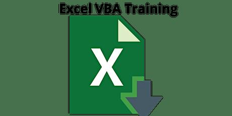 4 Weekends Excel VBA Training Course in Henderson tickets