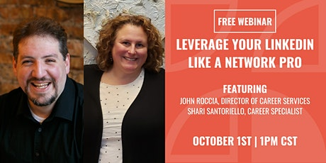 Leverage Your LinkedIn to Network Like a Pro tickets