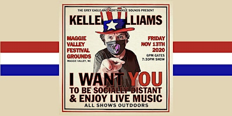 Keller Williams: Drive-In Concert at Maggie Valley Festival Grounds tickets