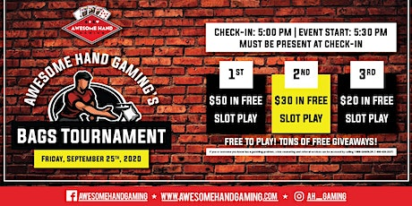 Bags Tournament at Buck Wild tickets