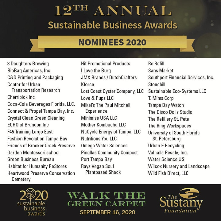 12th Annual Sustainable Business Awards  image