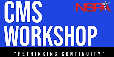 CMS Workshop Series Part 3: Tabletop Planning Meeting tickets
