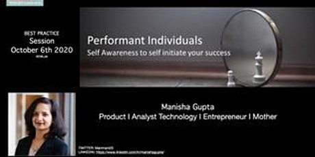 Performant Individuals: Self Awarness to Self-Initiative Your Success tickets