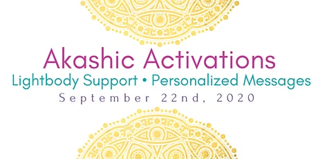 Akashic Activation and Personal Messages tickets