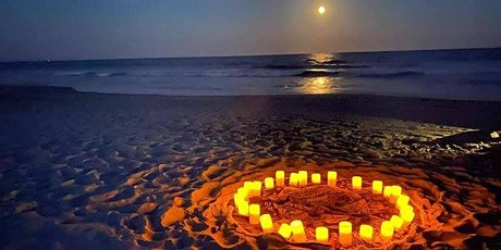 Full Moon Beach Yoga  THURS., OCT. 1ST   at 6 :15  pm tickets