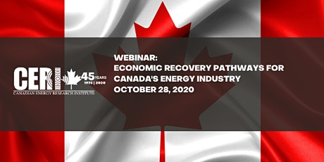 Webinar - Economic Recovery Pathways for Canada's Energy Industry tickets