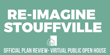 Official Plan Review – Virtual Public Open House tickets