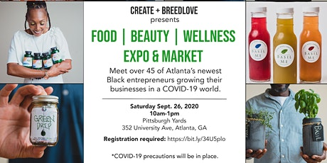 Food / Beauty / Wellness Expo & Market presented by CREATE and Breedlove tickets