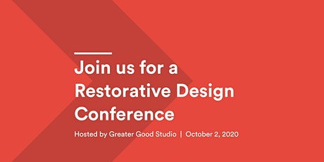 Restorative Design Conference tickets