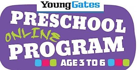 YG - Kids Online Fun PreSchool (3 - 6 years) tickets
