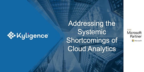 Addressing the Systemic Shortcomings of Cloud Analytics tickets