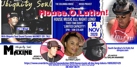 House.O.Lution 2020 House Music All Day Long! tickets