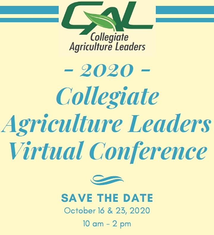 2020 Collegiate Ag Leaders Virtual Conference image