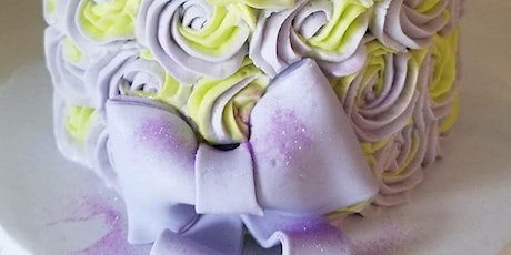 Beginner Cake Decorating with Buttercream and a Fondant Bow tickets
