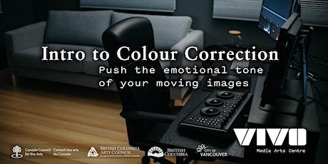 Intro to Colour Correction with Devan Scott tickets