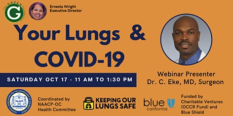 Your Lungs & COVID-19 Educational Webinar tickets