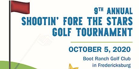 9th Annual Shootin' Fore the Stars Annual Golf Tournament tickets