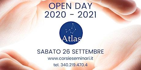OPEN DAY 2020-21 CENTRO OLISTICO ATLAS - Gratuito biglietti