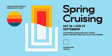 Glass Island - Spring Cruising - Sat 26th September tickets