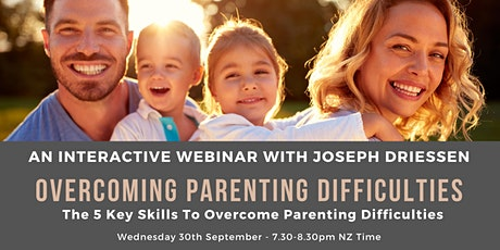 Overcoming Parenting Difficulties tickets