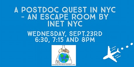 A Postdoc Quest in NYC - an Escape Room by INet NYC tickets
