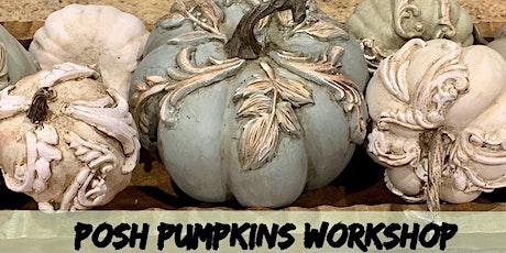 Posh Pumpkins tickets