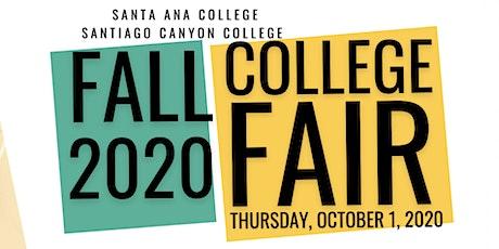 SAC/SCC Virtual College Fair (Session 2: Group F) tickets