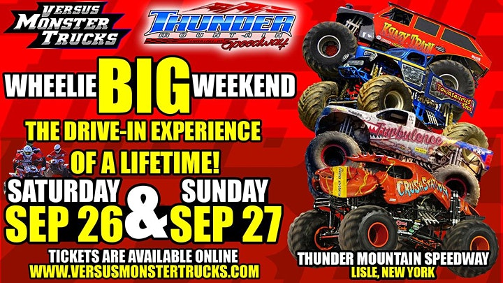Versus Monster Trucks Wheelie Big Weekend Tickets Sat Sep 26 2020 At 5 00 Pm Eventbrite