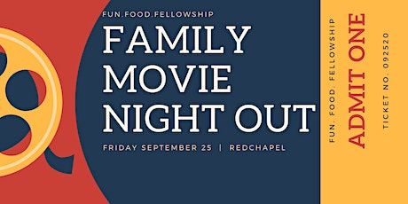 Family Movie Night Out tickets