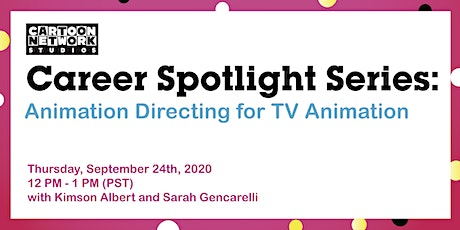 Animation Directing for TV Animation tickets