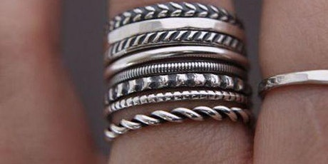 Intro to  Metal- Smithing.  Make your own 925 sterling silver & metal rings tickets