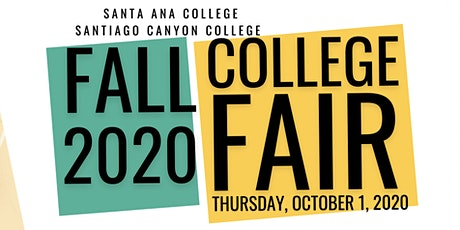 SAC/SCC Virtual College Fair (Session 3: Group F) tickets