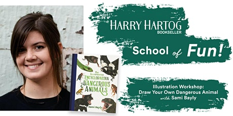 Illustration Workshop: Draw Your Own Dangerous Animal with Sami Bayly tickets