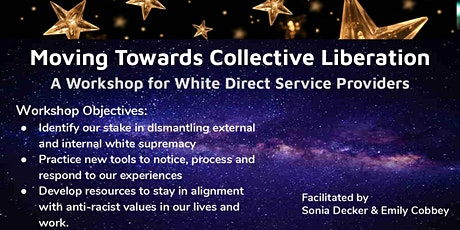 A Workshop for White-Identified Direct Service Providers tickets