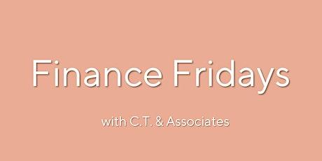 Finance Fridays: College Planning - CT and Associates Free 30 min Webinar tickets